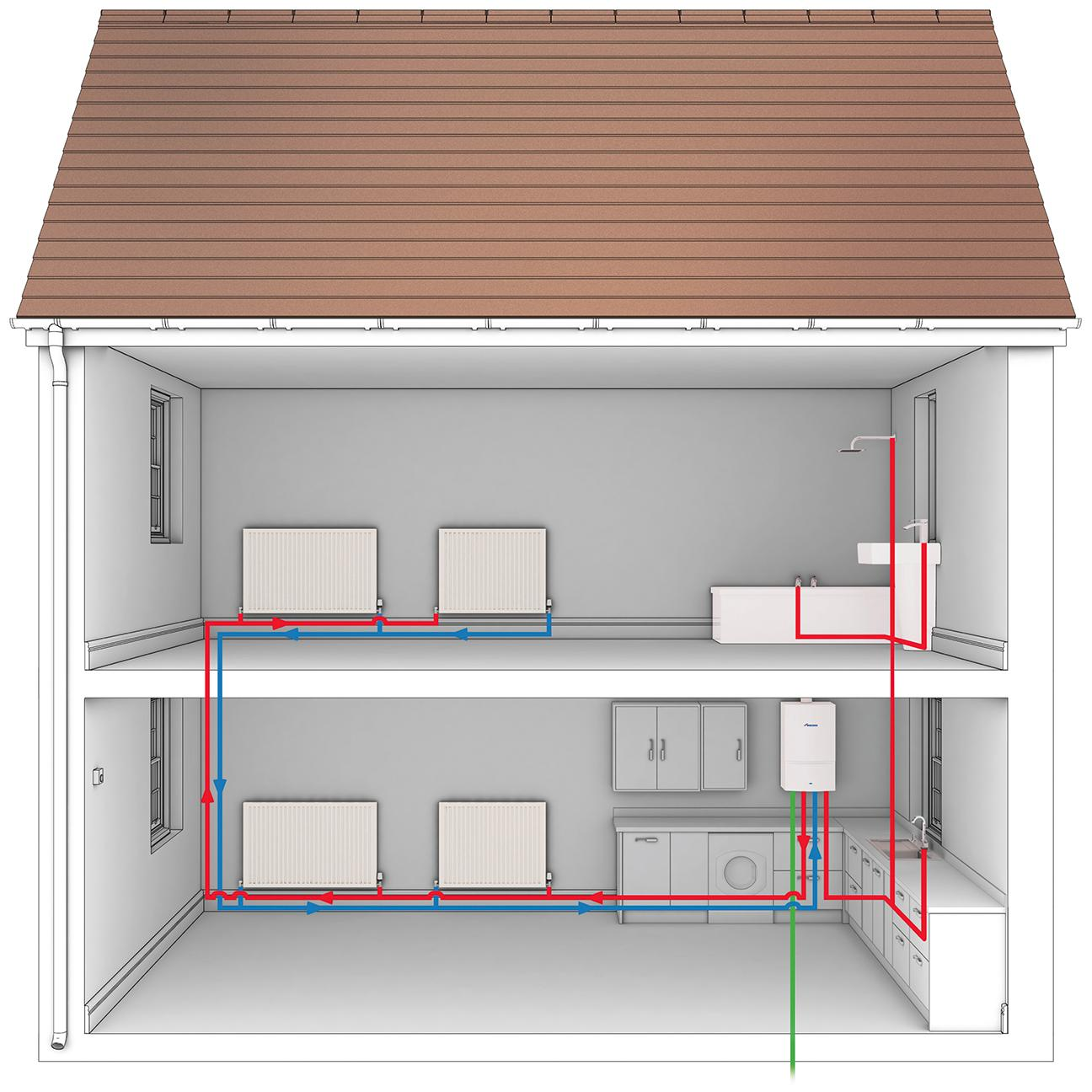 Combi Boiler Central Heating Diagram Wiring Images